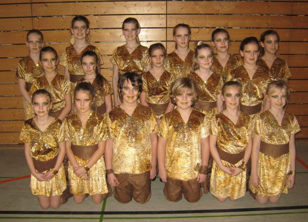 "Saison 2012/2013 Banditos Motto: ""Goldenes Afrika"""