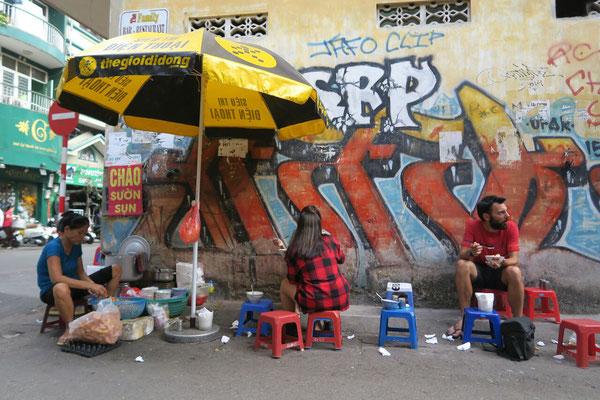 Stand de street-food