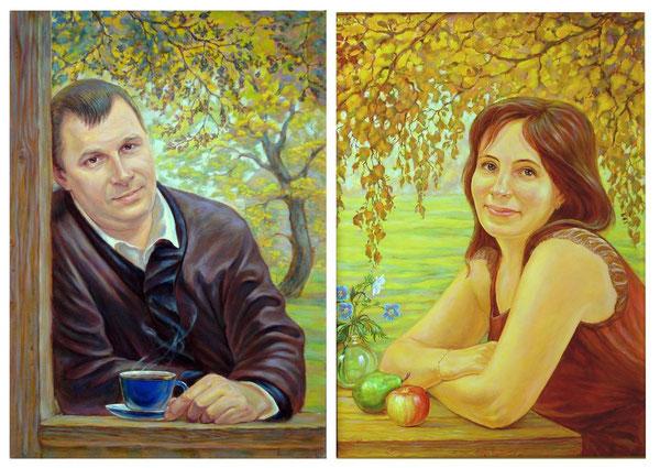 1   Семейные портреты (живопись, холст, масло.)