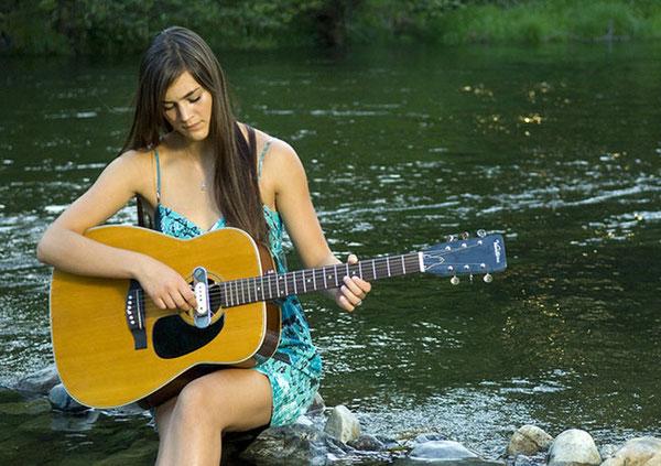 женщина и музыка 13