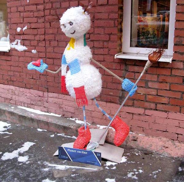 снеговики фестиваль-13
