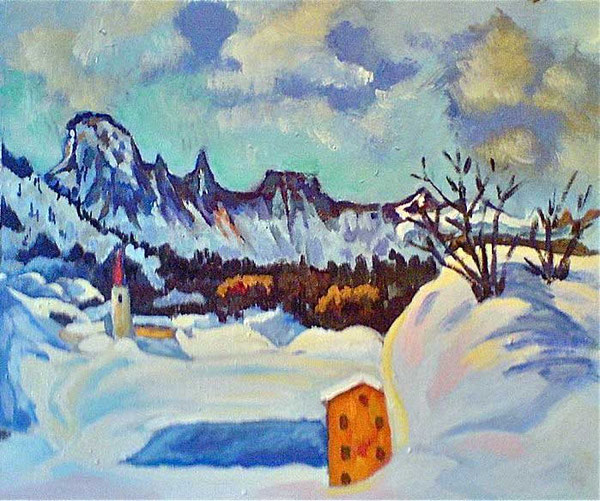 Neve su Capo Lago