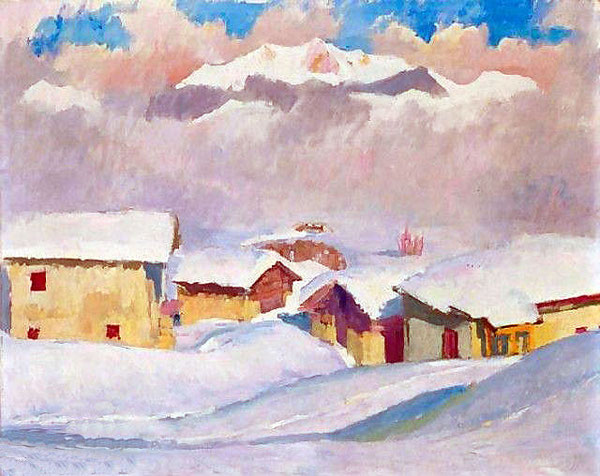 Зимний пейзаж, 1927