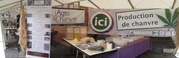 Stand Agrochanvre - Espace Eco Village