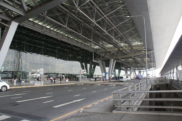 Flughafen Bangkok Airport Suvarnabhumi