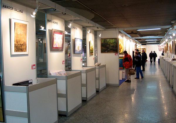 Stands en la Feria de los Artistas, Madird 2009