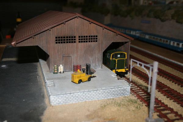 La halle marchandises train miniature la gare de - Halle d entree ...