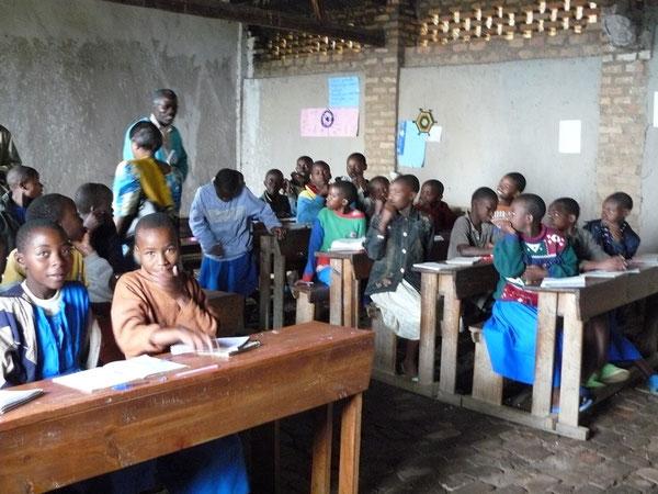 コンゴナイルスクールセンターの子どもたち