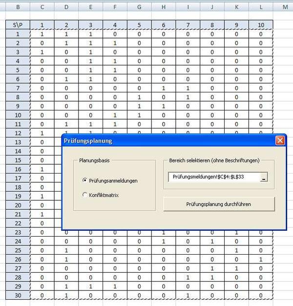 Prüfungsplanung - Die Informatikseite von Prof. Dr. Otto Rauh