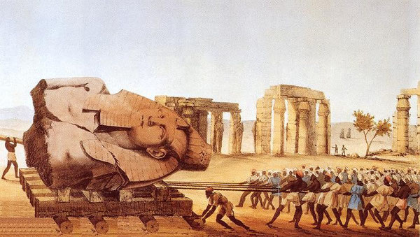 Grabado de Luigi Ademollo, 1822