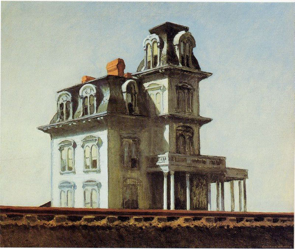 Edward Hopper, 'House by the Railroad' (1925)