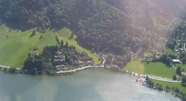 Luftbild Fischhauser Bucht  .... Foto:                  Heiner Auerbach
