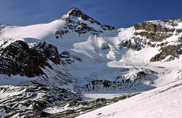 Die Südwand des Cerro Cuerno.