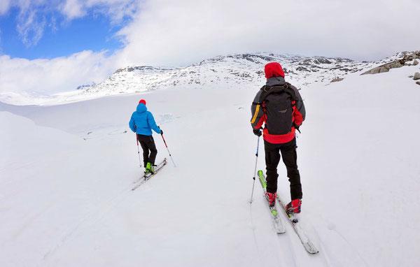 Der Styggevatnet ist der Startpunkt zur Längsüberquerung des Jostedalsbreen.