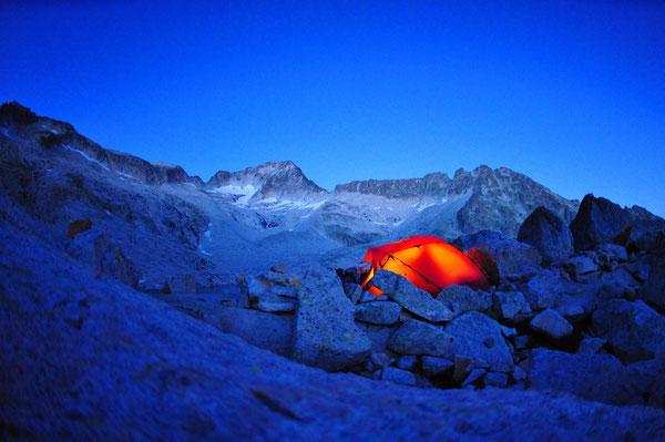 Abendstimmung am Fuße des Pico de Aneto