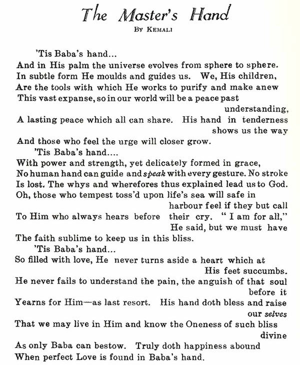 Meher Baba Journal : May 1939 - page 30