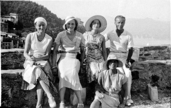MSI Collection - Portofino, Italy ; Delia is seated next to Quentin