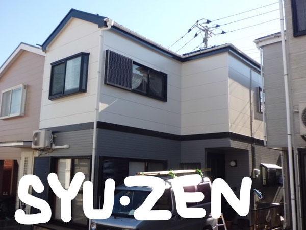 横浜市中区のお客様からのご紹介 横須賀市追浜 外壁塗装 屋根塗装 目地交換
