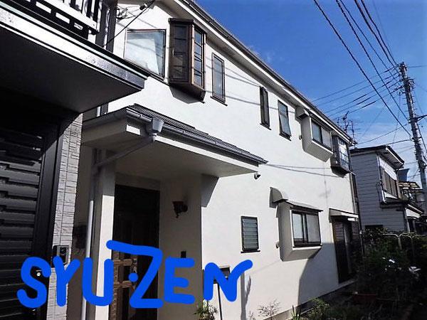 横浜市中区寺久保周辺 外壁塗装と屋根塗装