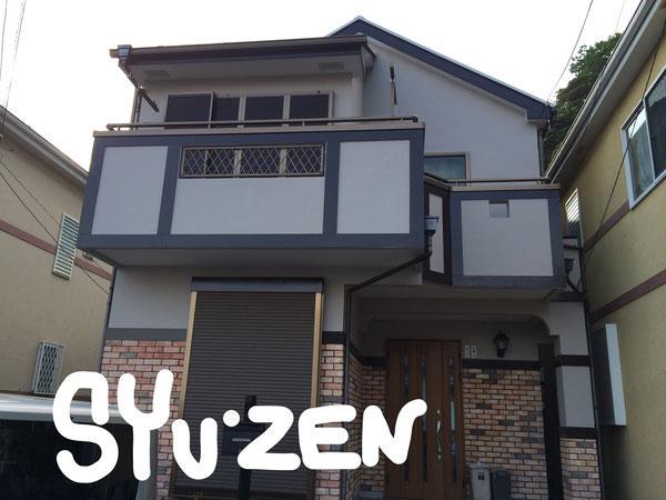 横浜市磯子区馬場町周辺 外壁塗装 屋根塗装