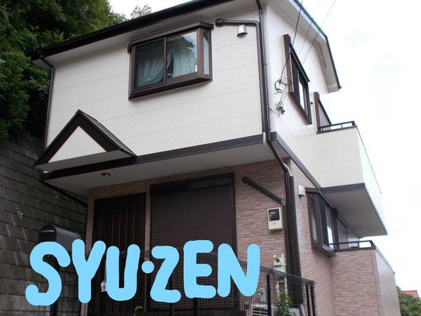 横浜市保土ヶ谷区岩崎町周辺 外壁塗装 屋根塗装 目地交換