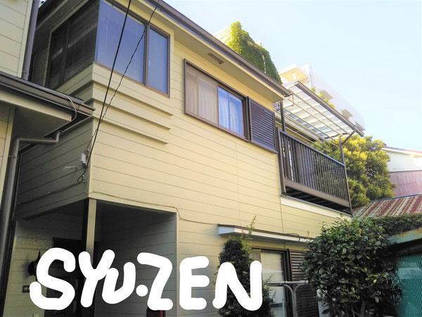 横浜市西区東久保町周辺 外壁塗装 屋根シングル