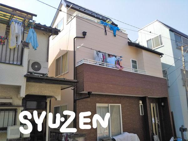 横浜市西区東久保町周辺 外壁塗装 屋根塗装 目地交換
