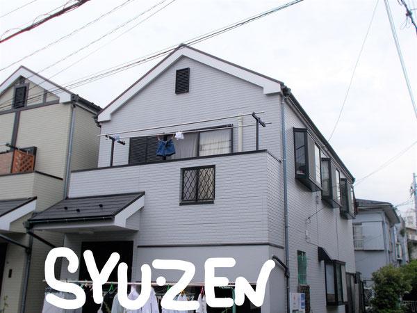 横浜市中区小港町周辺 ○○様邸の外壁塗装と屋根塗装。 目地交換工事です。