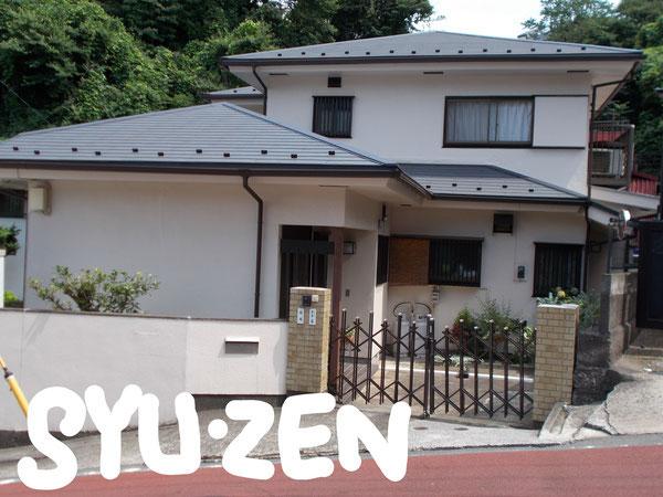 横浜市保土ヶ谷区神戸町周辺 外壁塗装 屋根葺き替え 雨樋交換