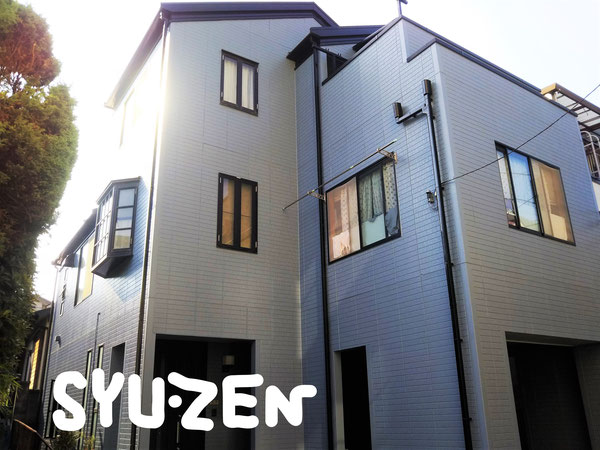 横浜市西区浅間町周辺 外壁塗装 屋根塗装 目地交換