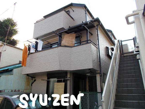 横浜市西区西戸部町周辺 外壁塗装 屋根塗装 目地交換