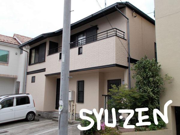 横浜市中区西之谷周辺 ダイワハウスの外壁塗装と屋根塗装。