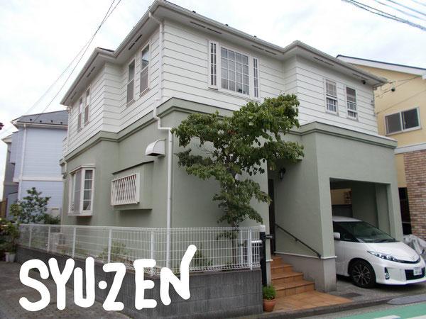 横浜市南区唐沢周辺 外壁塗装 屋根塗装