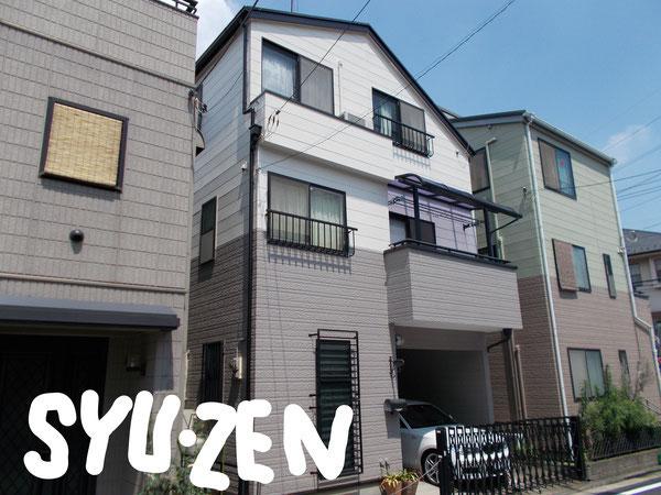 横浜市保土ヶ谷区岩井町周辺 外壁塗装 屋根塗装 目地交換