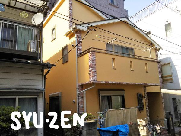 横浜市西区浅間町周辺 外壁塗装 屋根塗装