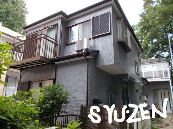 横浜市中区本郷町周辺 ○○様邸の外壁塗装と屋根塗装。