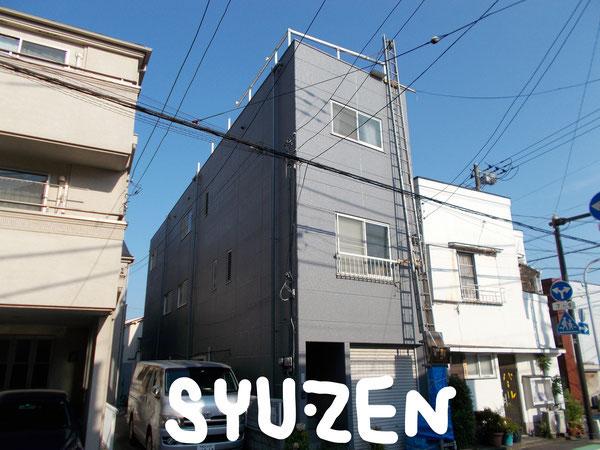 横浜市西区伊勢町周辺 外壁塗装