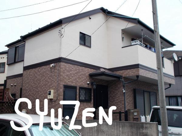 横浜市中区本牧三之谷 A様邸。外壁塗装と屋根塗装
