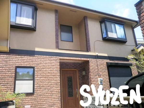 横浜市中区簑沢地区 外壁塗装 屋根塗装。