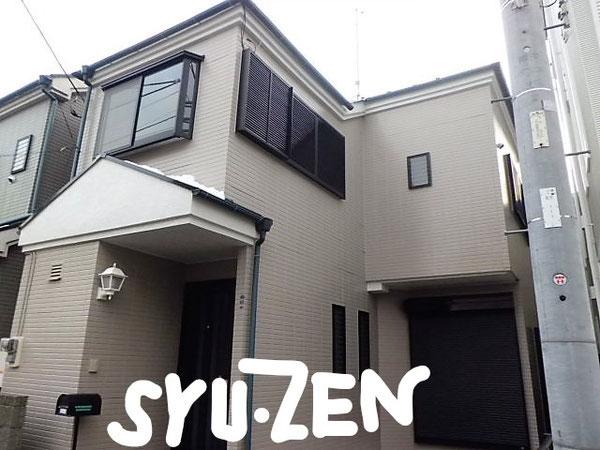 横浜市中区北方町の外壁塗装と屋根塗装。