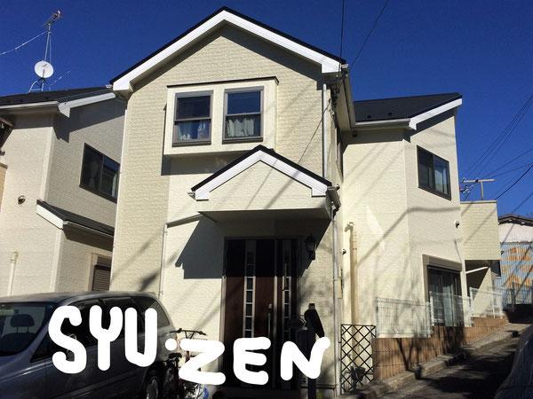 横浜市西区境之谷周辺 外壁塗装 屋根塗装 目地交換