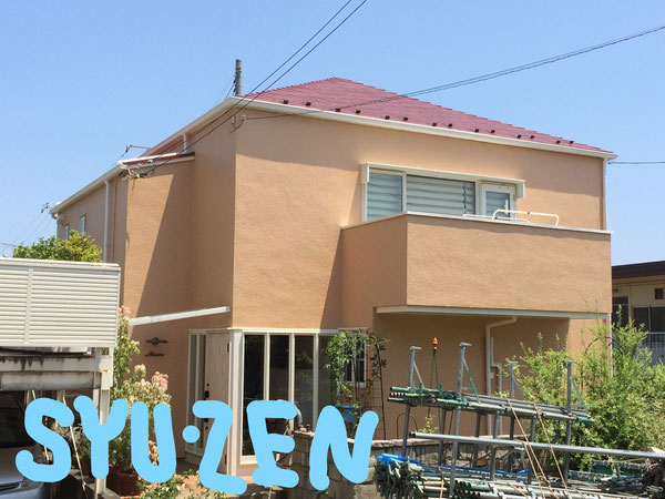 横浜市保土ヶ谷区初音ヶ丘周辺 外壁塗装 屋根塗装
