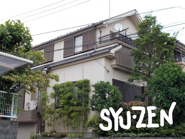横浜市中区本牧緑が丘。F様邸の外壁塗装と屋根塗装。