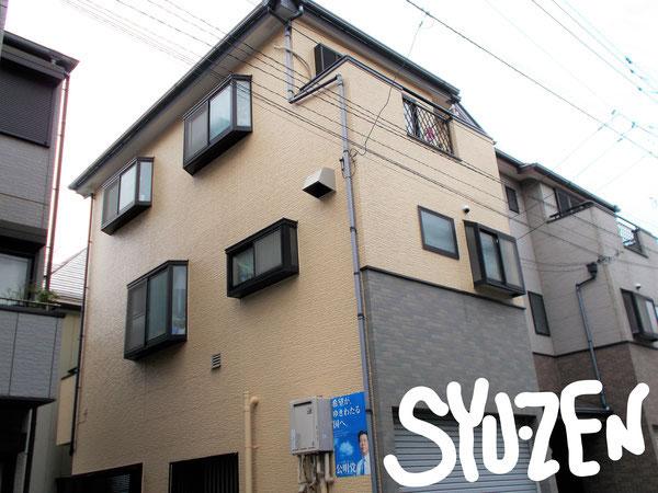 横浜市中区千代崎町周辺 外壁塗装 屋根塗装 目地交換
