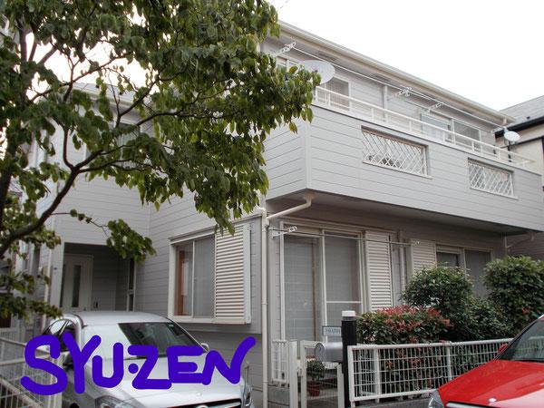 横浜市中区西之谷町周辺 外壁塗装 屋根塗装 目地交換
