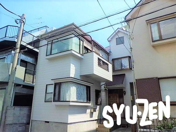 横浜市中区大和町。 外壁塗装と屋根塗装。