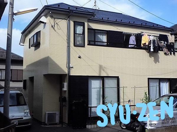 横浜市中区本郷町。 ○○様邸の外壁塗装と屋根塗装。