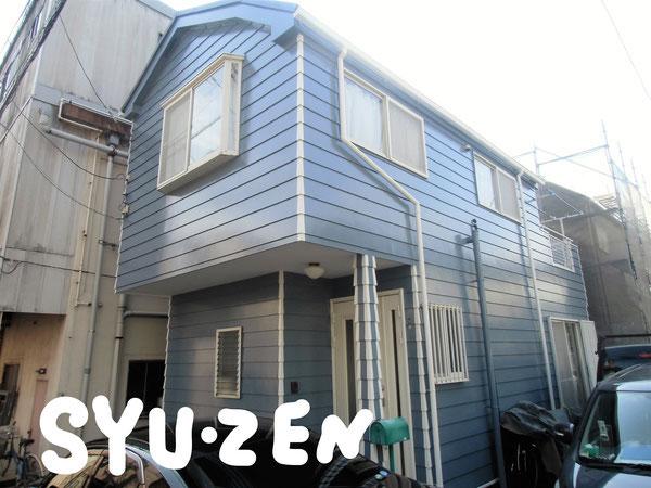 横浜市西区東久保町周辺 外壁塗装 屋根ガルバ