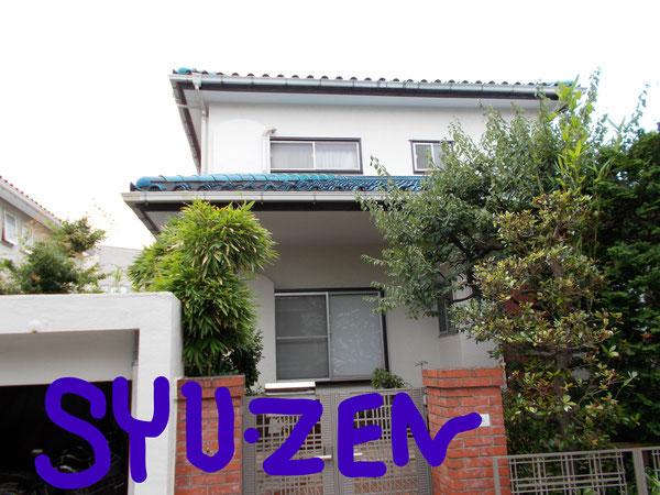 横浜市中区本牧三之谷。 外壁塗装でリフレッシュ。