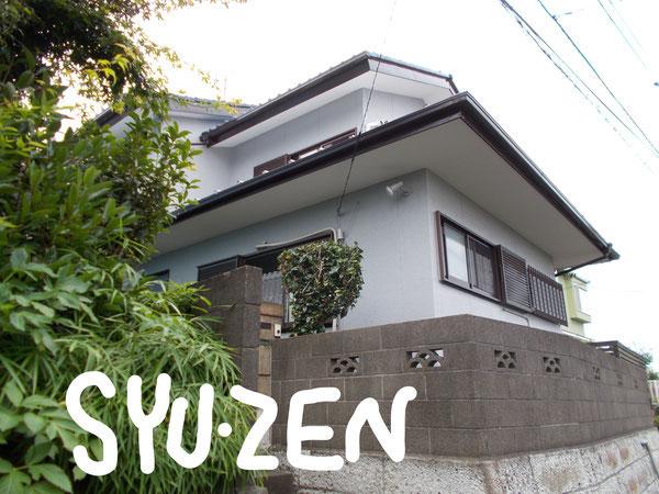 横浜市中区立野。 外壁塗装でお世話になりました。